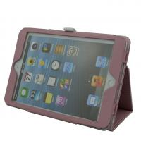 Buy cheap Folio Blank Ipad Mini Protective Covers , Purple Ipad Magnetic Cover from wholesalers