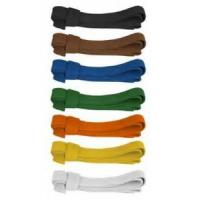 Buy cheap Custom karate belts martial arts color belts 180cm - 360cm , Green / Blue from wholesalers