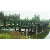 Buy cheap Easy Assembly Steel Suspension Bridge Compact Panel Bridge With Steel Deck from Wholesalers