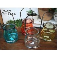 Buy cheap 280ml Glass Wishing bottle, Candle Holder,  Aroma Bottle from wholesalers