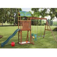 Buy cheap Sports Facilities Playground Fake Grass Landscaping Eco - Friendly Material from wholesalers