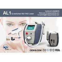 Buy cheap Touch Screen 10 HZ Nd Yag Laser Tattoo Removal Equipment For Medical Hospital from wholesalers