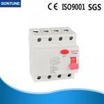 Buy cheap 440V 4 Pole RCCB Circuit Breaker 6KA Breaking Capacity IEC 61008 Standard from wholesalers