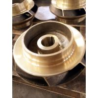 Buy cheap Brass / copper alloy impellers in centrifugal pump , copper casting water pump parts from wholesalers