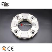 Buy cheap YNF 240H Excavator Shaft Coupling For Flexible Rubber Assembly White Color from wholesalers