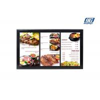Buy cheap Black Frame Wall Mounting 43'' LCD Multi Screen Display Area Advertising Player product