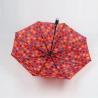 Buy cheap Plastic Handle Ladies Three Fold Umbrella Custom Colors 190T Polyester Fabric from wholesalers