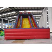Buy cheap Spiderman inflatable dry slide Marvel super spiderman red classic cartoon inflatable standard slide on sale from wholesalers