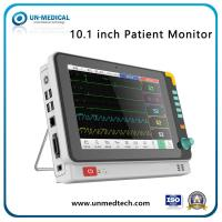 Buy cheap 10 Inch Tabletop Medical Multi-Parameter Portable Patient Monitor Monitoring Vital Sign Monitor from wholesalers