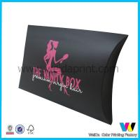 Buy cheap Black Pillow Gift Box , Paper Packaging Boxes with Matt Finish for Promotions from wholesalers