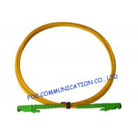 Buy cheap E2000 Fiber Optic Patch Cord SM G.652D Fiber Simplex 3.0mm For Telecom Networks from wholesalers