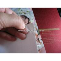 """Buy cheap Frosted PVC cold lamination film size 25""""x50meters, for wedding photos, art photos, album cover from wholesalers"""