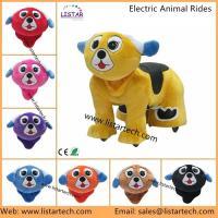 Buy cheap China Supply Funny Stuffed Animals, Walking Animal Rides, Stuffed Animal Electric Scooter from wholesalers