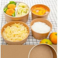 Buy cheap One Time Waterproof PE Coated Disposable Paper Bowl from wholesalers