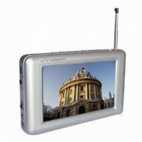 Buy cheap Portable TV with Built-in Telescopic Antenna and 480 x 3 x 272 Pixels Resolution from wholesalers