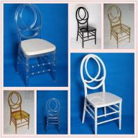 Buy cheap 100% Polycarbonate Stackable Resin Chairs Recyclable With Cushion from wholesalers
