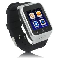 Buy cheap China Factory Wearable Mobile Wristwatch Cell Phone Built-in GPS, WIFI,Compass Sensor from wholesalers