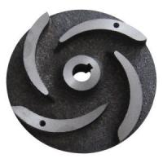 Buy cheap Pump Parts Casting Ductile Cast Iron Semi-Open Impeller Casting Hardened Sand / Slurry Impeller Pump Vane from wholesalers