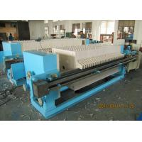 Buy cheap Stainless 630mm Plate And Frame Filter Press In Waste Water Treatment from wholesalers