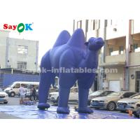 Buy cheap Dark Blue  Inflatable Cartoon Characters For Outdoor Advertisement  /  Giant Inflatable Camel from wholesalers