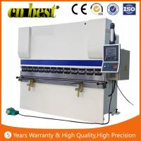 Buy cheap 100T press brake CNC hydraulic press brake machine WC67K 100T3200MM bending mahcine from wholesalers