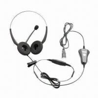 Buy cheap VT2000USB Headset, Noise Cancelling, Broadband Audio, Stereo, USB Connector from wholesalers