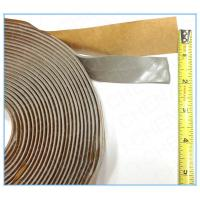 Buy cheap Waterproof  Butyl Rubber double Adhesive Tape in Construction Industry silver 2x20mm from wholesalers