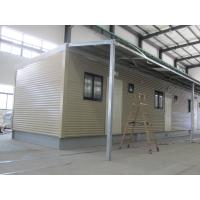 Buy cheap Fully Decorated Finished Bunk prefabricated House / Yellow Contemporary Modular Homes from wholesalers