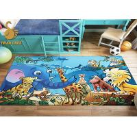 Buy cheap Decorative Soft Textile Living Room Carpet Rugs Antibacterial With Beautiful Pattern from wholesalers