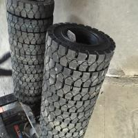 Buy cheap Morden Industrial Forklift Solid Tyres hot sale 12.00-20 12.00-24 solid forklift tire cheap price  CRA Forklift Parts & from wholesalers