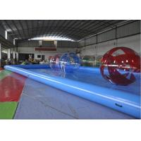 Rectangle Inflatable Swimming Pool / Blow Up Swimming Pools For Adults