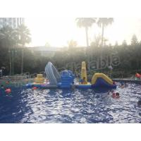 Buy cheap Large Floating Inflatable Aqua Park Water Games With Slide For Outdoor Entertain product