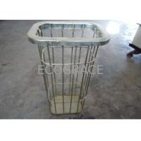 China OEM ODM Flat Baghouse Filter Bag Filter Cages for Incineration Plant on sale