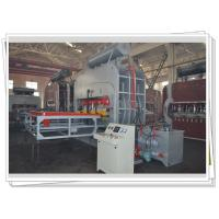 Buy cheap Down Press Double Side Laminate Pressing Machine / Plywood Hot Press Machine from wholesalers