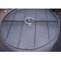 Buy cheap Easy Install Wire Mesh Demister Pad 431 Air Liquid Filtration 100-5000mm Diameter from wholesalers