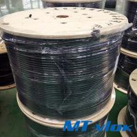 Buy cheap TP304 / 304L Welded Stainless Steel Coiled Tubing For Multi - Core Tube product
