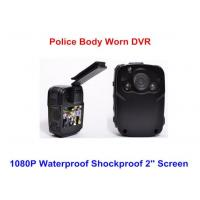 Buy cheap Wearable Night Vision Body Camera , Personal Body Video Camera Built In 32G TF Card from wholesalers