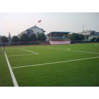 Buy cheap DZH25 Soccer Artificial Turf Grass , UV-Resistant Synthetic Turf Gauge 3 / 8 from wholesalers