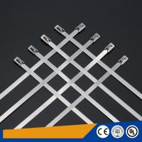 Buy cheap Uncoated 316 Self Locking Stainless Steel Cable Ties Corrosion Resistant from wholesalers