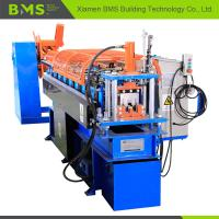 Buy cheap Top Hat Purlin Roll Forming Machine , Steel Frame Roll Forming Machine from wholesalers