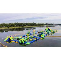 Buy cheap Inflatable Floating Water Sports Theme Park / Water Splash Park Installed In Milano from wholesalers