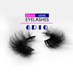 Buy cheap High Durability 6D Mink Lashes , Long Lifespan Real Mink False Eyelashes from wholesalers