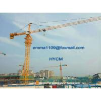 Buy cheap QTZ6513 Factory Topkit Tower Crane with Telescoping Cage and Hydraulic System from wholesalers