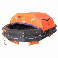 Buy cheap Throw-over Type Inflatable Life-raft, Absorbs Greater Impact, Less Reverse Impact on the Ships from wholesalers