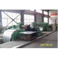 Buy cheap High Speed Steel Coil Slitting Line, 0.3-3mm Automatic Coil Slitting Line For Metal Plate from wholesalers