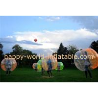 Buy cheap soccer bubble ball , air bubble ball , giant human bubble ball , bumper ball body from wholesalers