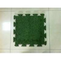 Buy cheap High Density Durable Synthetic Turf Lawn , Artificial Turf Underlay Water Penetration from wholesalers