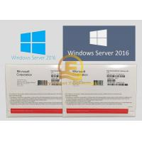 Buy cheap Full Version Sealed Windows Server 2016 OEM System Builder Pack DVD Meida from wholesalers