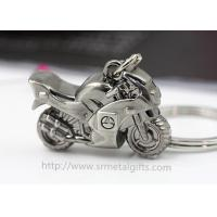 Buy cheap Exquisite metal motorcycle drop pendant keychain, branding logo motorcycle charm ornament, from wholesalers