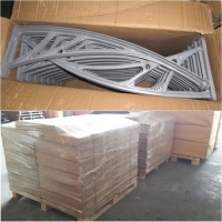 Buy cheap Anti UV 800*1000mm Polycarbonate Door Canopy from wholesalers